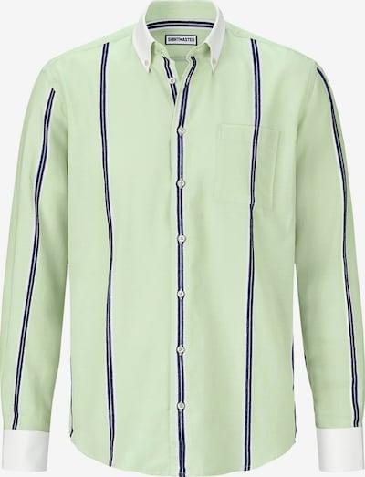 Shirtmaster Overhemd ' Greenmelon ' in de kleur Blauw / Groen, Productweergave