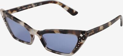 VOGUE Eyewear Lunettes de soleil 'SUPER' en gris / bleu violet, Vue avec produit