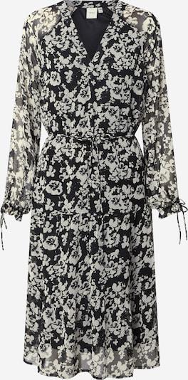 ICHI Kleid 'IHANLI DR' in schwarz / weiß, Produktansicht