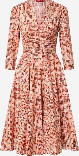 MAX&Co. Avondjurk 'Dioniso' in de kleur Sinaasappel / Rood / Wit, Productweergave