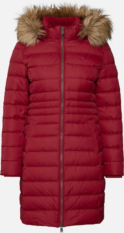 Tommy Manteau Rouge En Jeans D'hiver 53AL4Rj