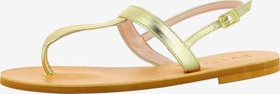 EVITA Damen Sandale in gold, Produktansicht