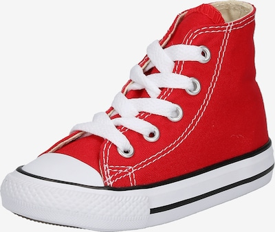 CONVERSE Baskets 'ALLSTAR' en rouge / blanc, Vue avec produit