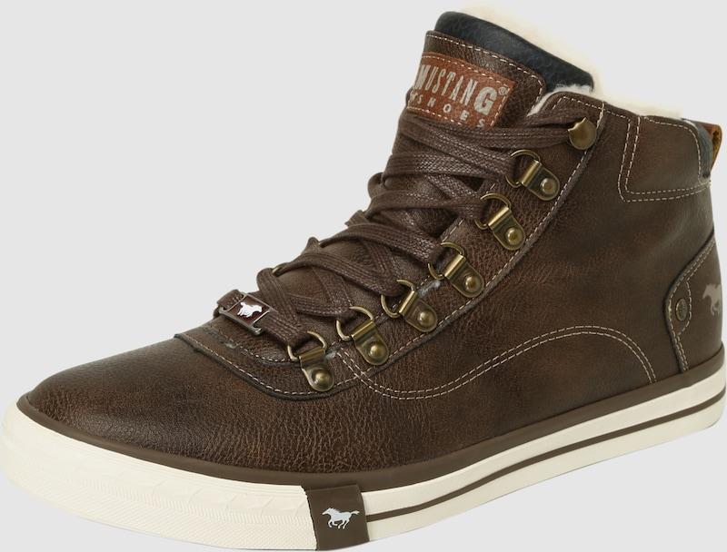 MUSTANG Gefütterter Schnürstiefel Verschleißfeste billige Schuhe