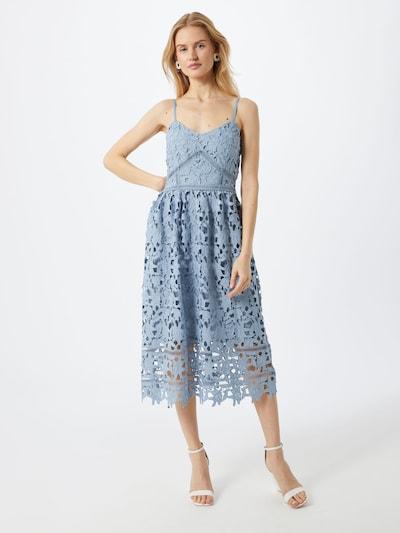 VILA Kleid 'ZANNA' in hellblau, Modelansicht