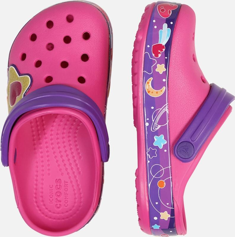 Crocs Schuh 'Galactic Hearts' in fuchsia | ABOUT YOU