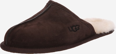 UGG Pantoufle 'Scuff' en brun foncé, Vue avec produit