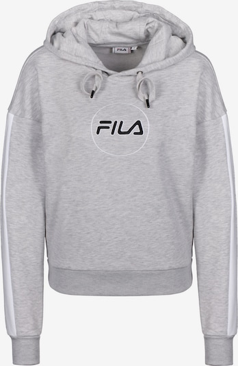 FILA Hoodie ' Riva W ' in graumeliert, Produktansicht