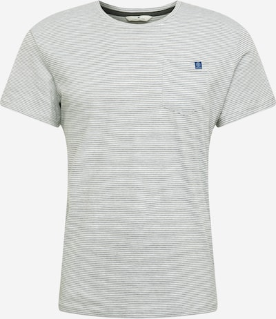TOM TAILOR T-Shirt in grau / weiß, Produktansicht