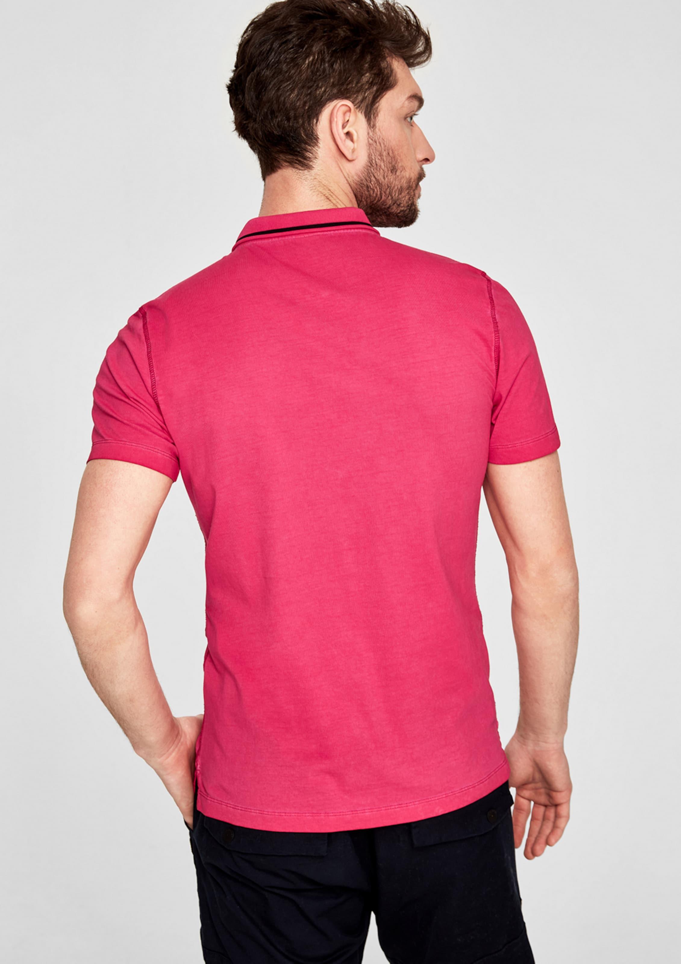 s.Oliver RED LABEL Slim: Poloshirt mit Wascheffekt Mit Kreditkarte Freiem Verschiffen Auslass Erhalten Zu Kaufen Freies Verschiffen Neue Billig Ausgezeichnet Yv94xa9L