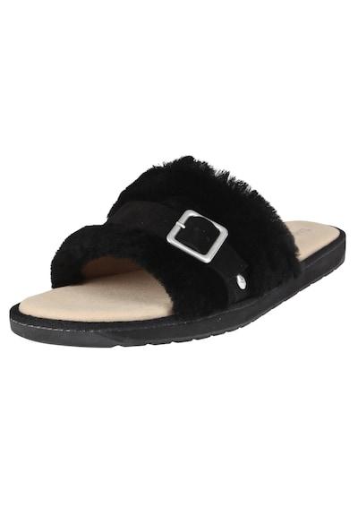 EMU AUSTRALIA Pantoletten in schwarz, Produktansicht