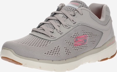 SKECHERS Baskets basses 'FLEX APPEAL 3.0 MOVING FAST' en taupe / rose, Vue avec produit