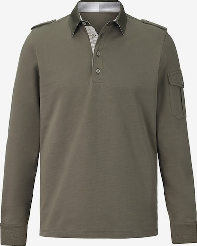 Charles Colby Sweatshirt 'Duke Cormac' in khaki, Produktansicht
