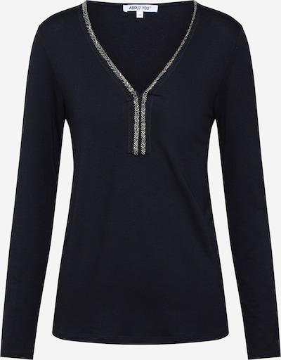 Marškinėliai 'Jilia' iš ABOUT YOU , spalva - juoda: Vaizdas iš priekio