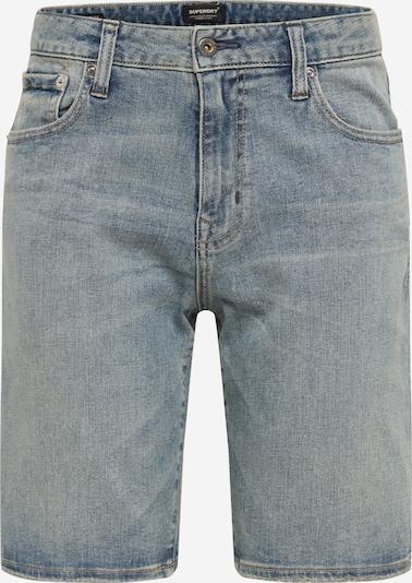 Superdry Shorts in blue denim, Produktansicht