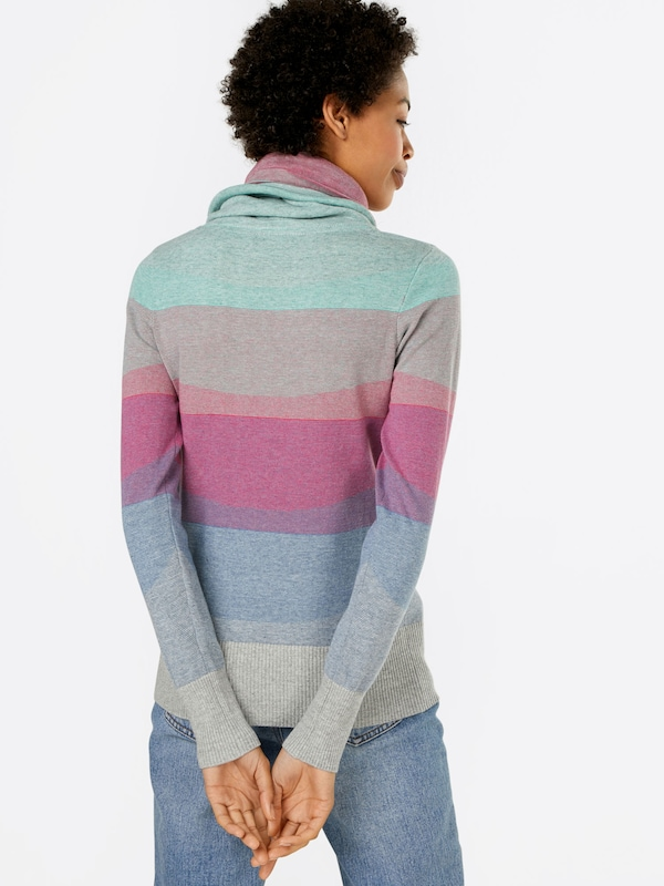 naketano Sweater mit Schalkragen