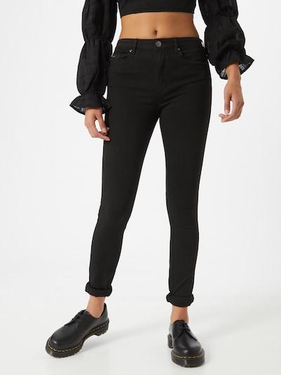 ONLY Jeans 'Gosh' in de kleur Zwart: Vooraanzicht