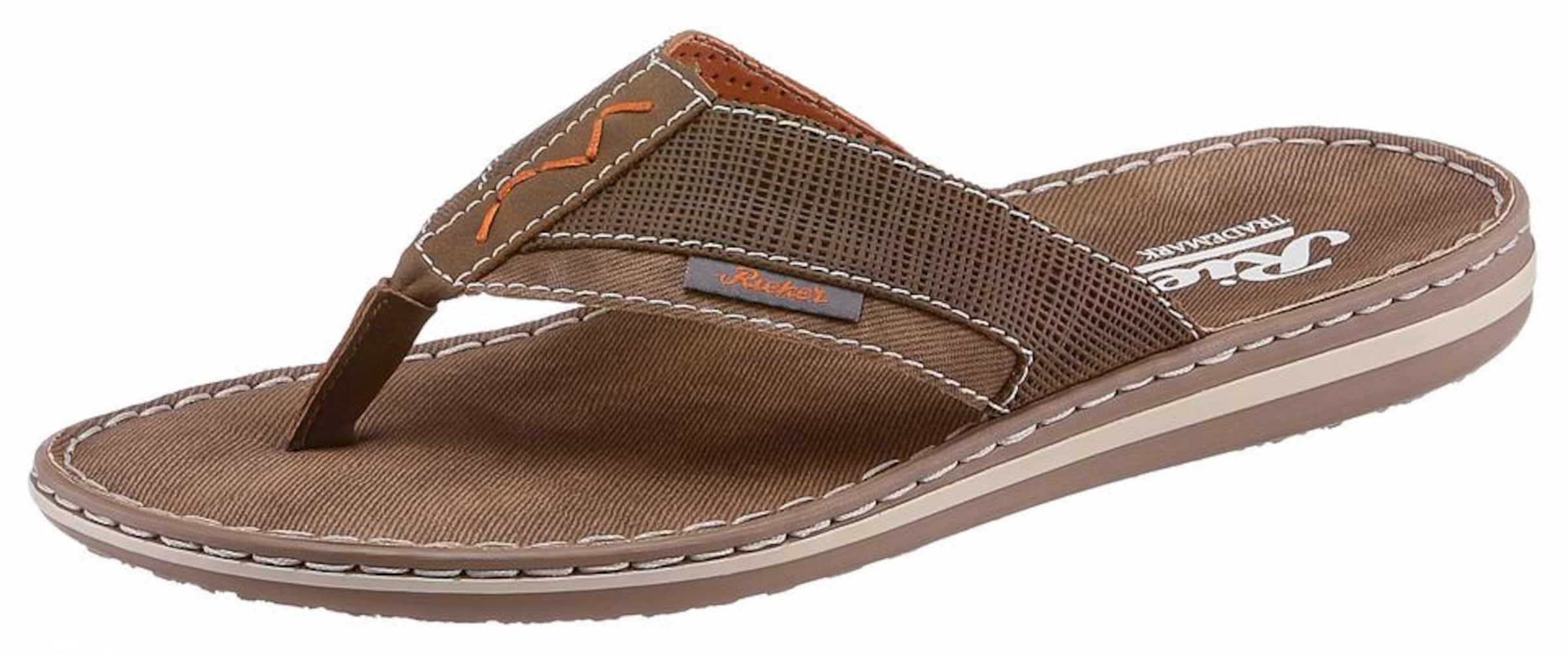 RIEKER Zehentrenne Verschleißfeste billige Schuhe Hohe Qualität