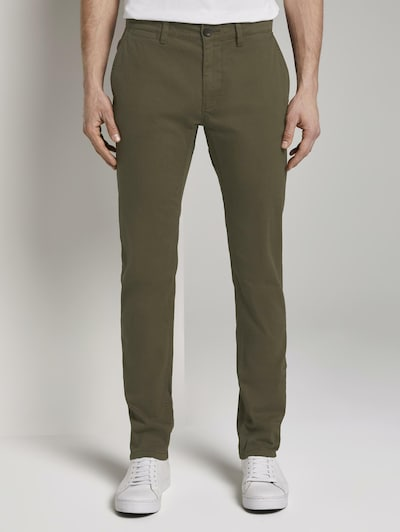 TOM TAILOR Chinohose 'Travis' in khaki, Modelansicht