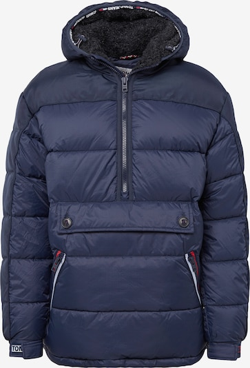 Tommy Jeans Jacke 'MIXED FABRIC POPOVER' in dunkelblau, Produktansicht