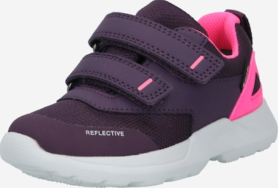 SUPERFIT Sneaker 'RUSH' in dunkellila / pink, Produktansicht