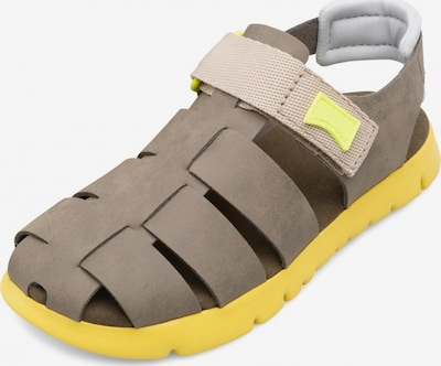 CAMPER Sandalen 'Oruga' in beige / gelb, Produktansicht
