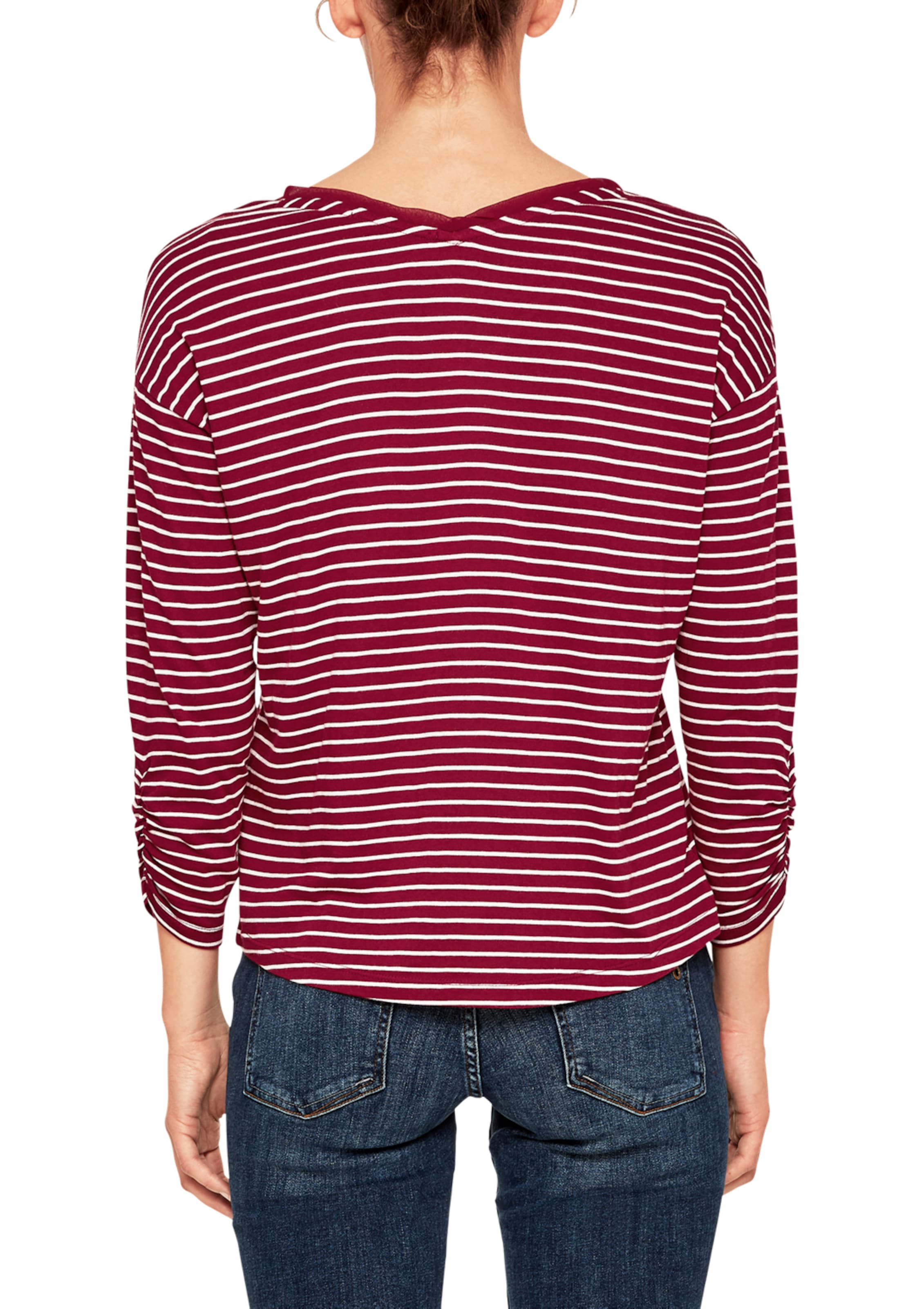 Shirt Red S RotWeiß oliver Label In uXZiPk