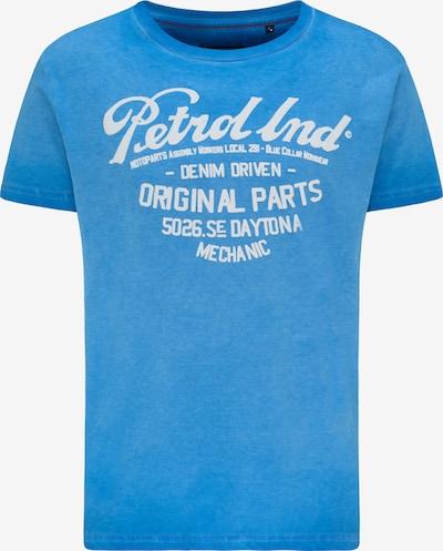 Petrol Industries Koszulka w kolorze niebieski / białym, Podgląd produktu