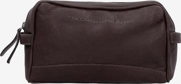 Trousses de toilette 'Stacey' The Chesterfield Brand by Thomas Hayo en marron