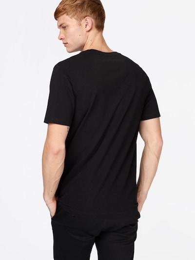 WOOD WOOD Shirt in schwarz: Rückansicht