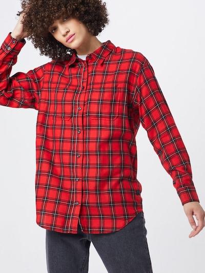 G-Star RAW Bluse & Tuniken 'Parota check bf shirt wmn l\s' in rot, Modelansicht