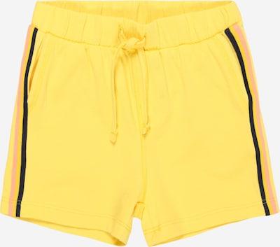 GARCIA Kalhoty - žlutá: Pohled zepředu