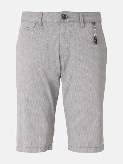 TOM TAILOR Pantalon chino en gris: Vue de face