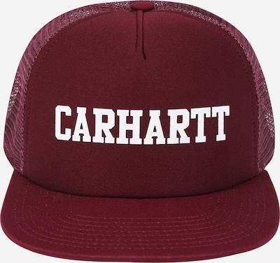 Carhartt WIP Casquette 'College' en rouge / blanc, Vue avec produit