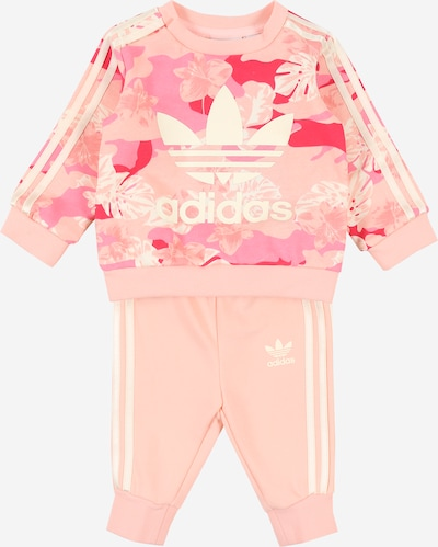 ADIDAS ORIGINALS Set in creme / rosa / rot, Produktansicht