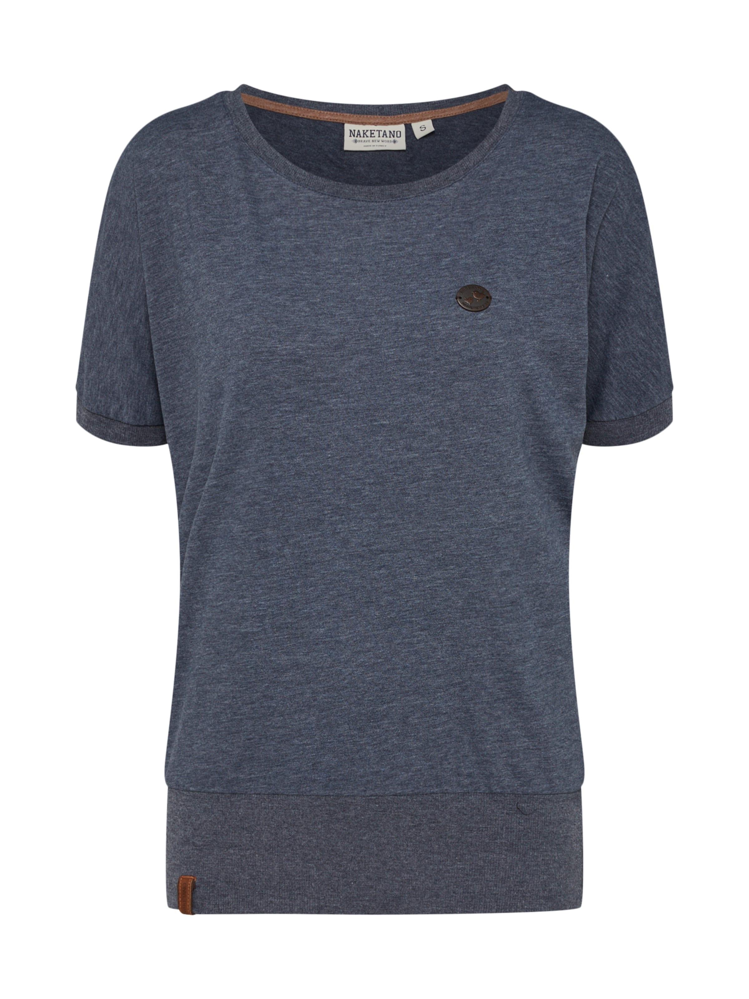 Shirt Wit It' In Indigo Naketano 'baunxxx PkZiTuOX