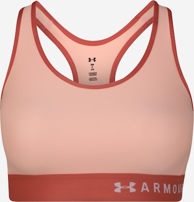 UNDER ARMOUR Sport bh 'Mid Keyhole' in de kleur Perzik, Productweergave