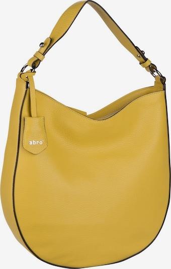 ABRO Handtasche 'Calf Adria 28486' in gelb, Produktansicht