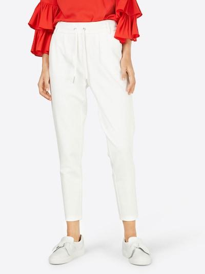 Pantaloni 'Poptrash' ONLY pe alb, Vizualizare model