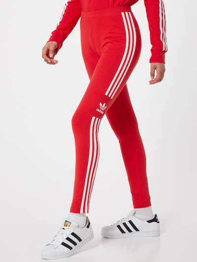 ADIDAS ORIGINALS Leggings in rot: Frontalansicht