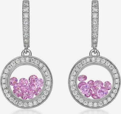 Astra Oorbellen 'FROM THE DREAM' in de kleur Pink / Zilver, Productweergave