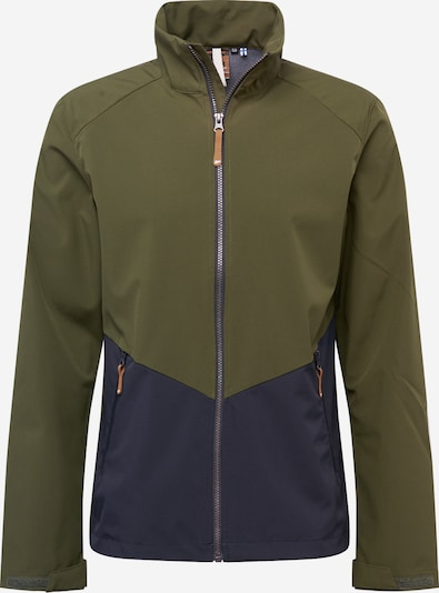 ICEPEAK Sportjas 'ALEDD' in de kleur Navy / Olijfgroen, Productweergave