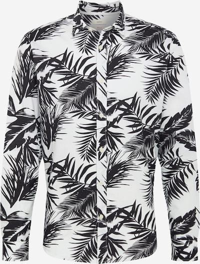 ESPRIT Koszula w kolorze niebieski / białym: Widok z przodu