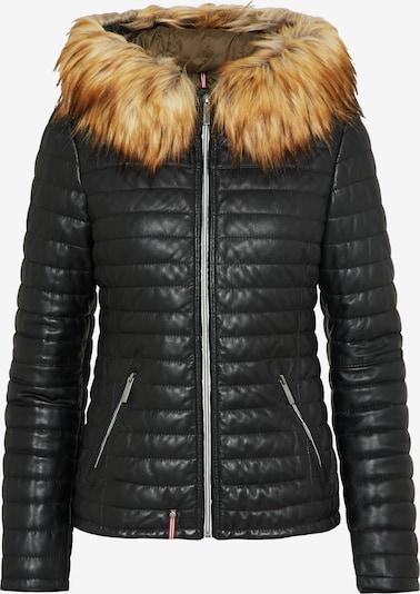OAKWOOD Lederjacke in schwarz, Produktansicht