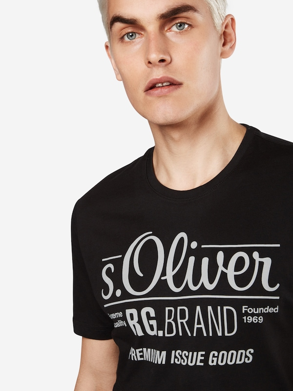 S.oliver Red Label T-shirt Mit Front-print