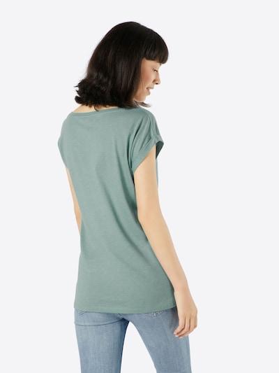 Iriedaily Print-Shirt in mint / weiß: Rückansicht