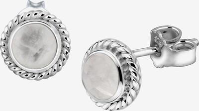 Nenalina Ohrringe in silber / weiß, Produktansicht