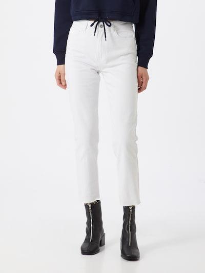 ONLY Jeans in de kleur Natuurwit, Modelweergave