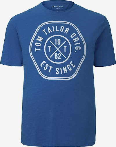 TOM TAILOR Men Plus T-Shirt T-Shirt mit Print in blau, Produktansicht
