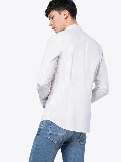 Tommy Jeans Hemd in weiß: Rückansicht